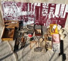 Patikai eszközök + kiegészítők gyűjteménye