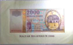 Magyar Millennium 2000 forint