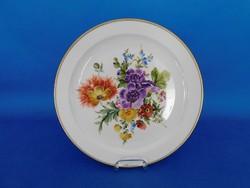 Herendi Bouquet de Saxe  25 cm Dísztál  tál