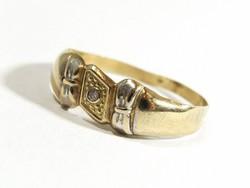 Arany gyűrű(Kecs-Au67215)