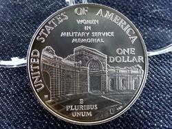 USA ezüst emlék Dollár 1994 - Nők katonai szolgálatban (id7336)