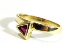 Arany gyűrű(Kecs-Au73857)