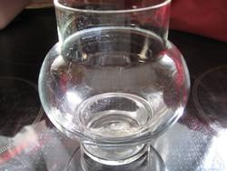 Kézműves mécses tartó, váza