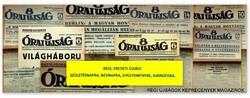 1937 április 13  /  8 Órai Ujság  /  RÉGI EREDETI ÚJSÁG Szs.:  4175