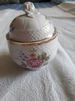 Hollóházi porcelán bonbonier (I.oszt.)
