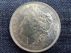 Nagyon szép, verdefényes ezüst Morgan Dollar 1921 (id7365)