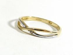 Arany gyűrű(Kecs-Au75399)
