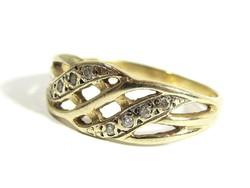 Arany gyűrű(Kecs-Au75401)