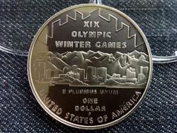 Ezüst USA Dollár 2002 - XIX. Téli olimpia, Saltlake (id7363)