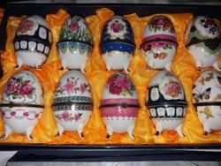 Porcelán disztárgyak - kinyitható