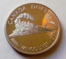 Ezüst 1 Dollár Kanada Vancouver