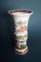 Unterweissbach kínai jelenetes, dekoratív váza