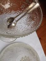 Díszes jelz.cukorcsipesz -szép porcelán mellé