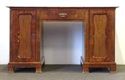 0W158 Antik térbe helyezhető Biedermeier íróasztal