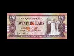 UNC - 20 DOLLÁR - GUYANA - 2009