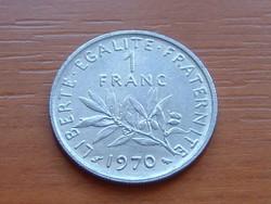 FRANCIA 1 FRANK 1970