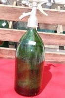 Szódáüveg sötétzöld