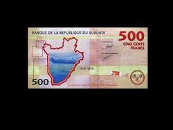 UNC - 500 FRANCS - BURUNDI - 2015