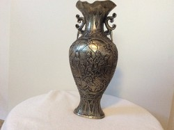 Régi kinai réz váza
