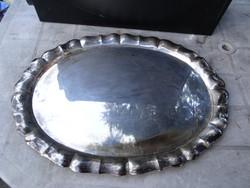 Antik ezüst tálca nagyméretű 1,4 kg