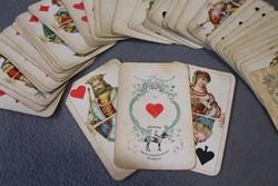 Ritka kártyapakli, Piatnik Nándor és fiai védjegyes kártya 52+1 lap