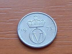 NORVÉGIA 10 ŐRE 1975