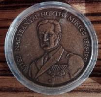 Vitéz Nagybányai Horthy Miklós Bronz emlékérem