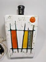 Iparművész retro kerámia fali lámpa test
