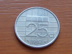 HOLLANDIA 25 CENT 1987