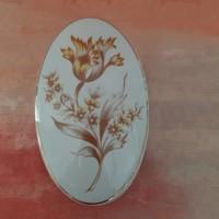 Hollóházi porcelán bonbonier, doboz