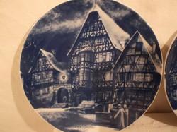 Porcelán - 1976 - Royal Bavaria - karácsonyi tányér - tökéletes - hibátlan 19 cm