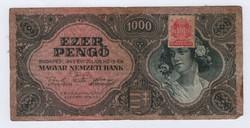 Bélyeges 1000 pengő 1945