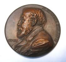 Szilágyi Sándor emlékérem 1897,Körmöcbánya.Anton Scharff