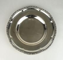 0W028 Régi ezüst tányér tál 690g