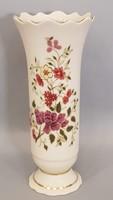 Gyönyörű szép Zsolnay virág mintás kézi festésű váza