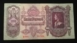 1930 SZÁZ PENGŐ SZÉP ÁLLAPOTBAN