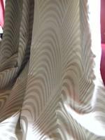 Csodaszép bézs drapp selyem sötétítő függöny