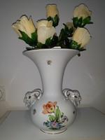 HERENDI kosfejes váza