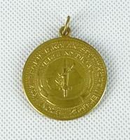0W156 Antik irredenta sportérem aranyérem 3.6 cm