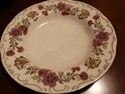 Zsolnay pillangós leveses tányér/mélytányér hibátlan, új