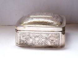 Antik ortodox ereklyetartó ezüst doboz!