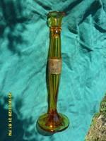 Antik Moser extrém ritka 34,5 cm gyertyatartó