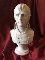 Napóleon Konzulként Mellszobor - Napoleon Bonaparte Büszt szobor (Fehér Márvány)