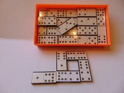 Régi retró idő dominója 45+1 db-os eredeti dobozában