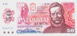Csehszlovákia 50 korona 1987 UNC