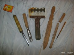 Retro konyha és használati eszköz - hat darab