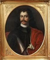 II. Rákóczi Ferenc festmény. 19. század közepéről. Keret nélküli méret: 77x62cm