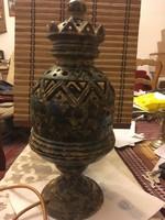 Különleges áttört kerámia lámpa