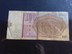 100 Denari Macedónia 1997