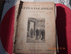 1897 évi Képes Folyóirat. A Vasárnapi Ujság füzetekben. -XI.évf.